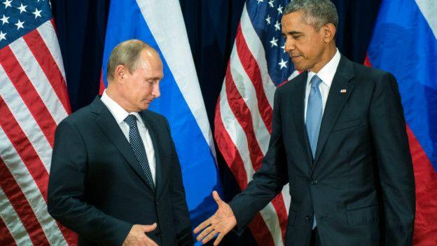 Obama y Putin