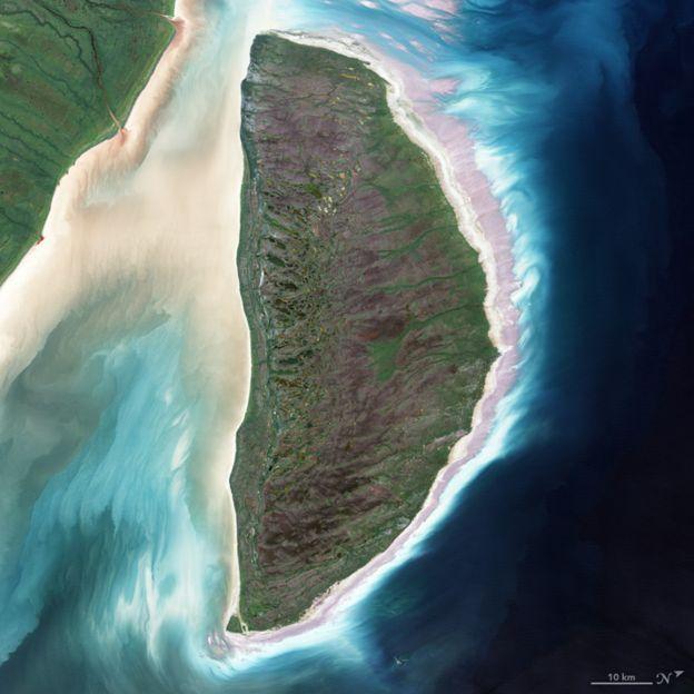 El alfabeto que la NASA creó con fotos sacadas desde el espacio