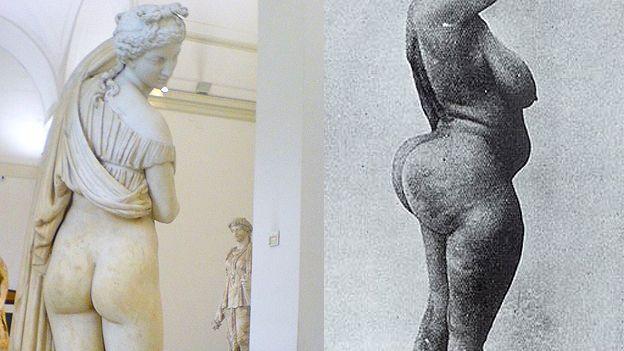 La Venus de las nalgas bellas