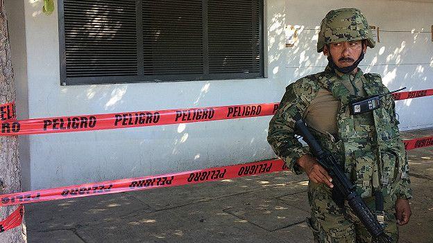 Casa donde fue recapturado El Chapo Guzmán