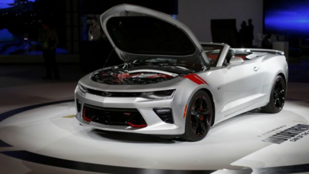 Con el nuevo Chevrolet Camaro SS Convertible los diseñadores crearon una arquitectura más ligera y pequeña, respetando el diseño de su predecesor .