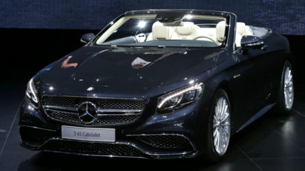 El modelo AMG S 65 de Mercedes es de lujo y con 630 caballos de fuerza.