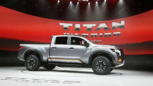 La Titan Warrior también sorprendió al público de Detroit y Nissan, su fabricante, afirma que está diseñada bajo el concepto de