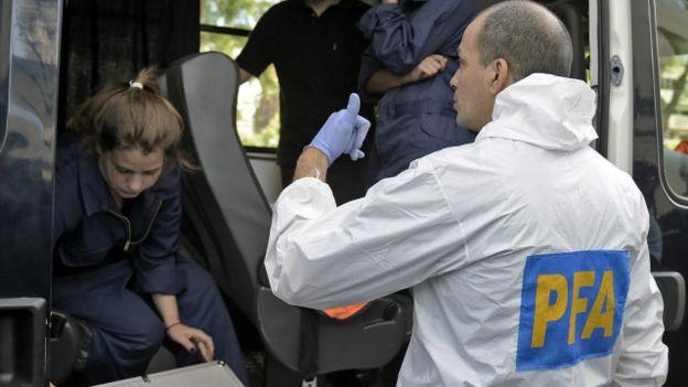 Los científicos forenses de la Policía Federal argentina visitaron varias veces el departamento de Nisman.