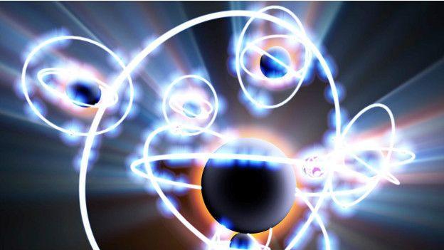 Un átomo
