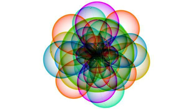 Átomo de cromo.