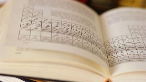 Un libro de química