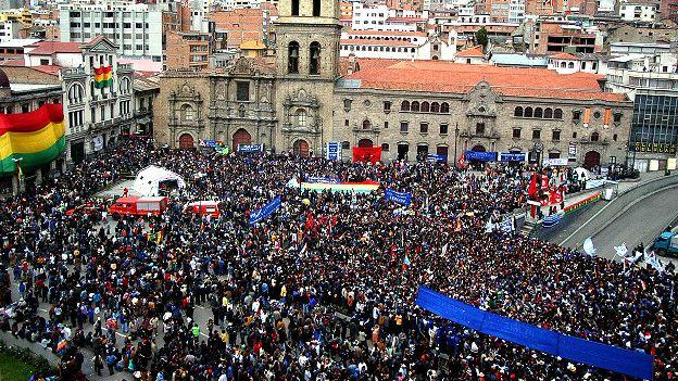 Celebración 2006 en Bolivia