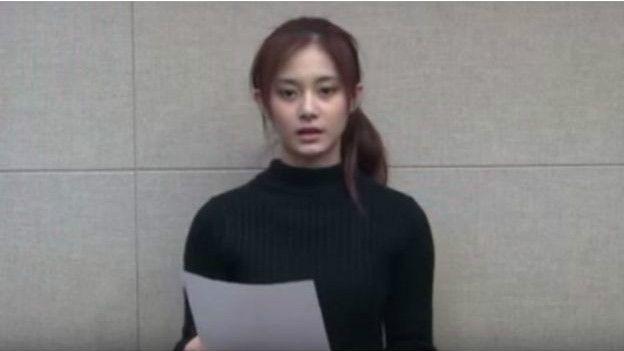 周子瑜在道歉影片