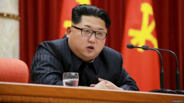 El lider norcoreano, Kim Jong-un