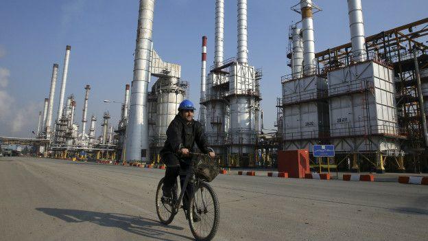 Refinería petrolera