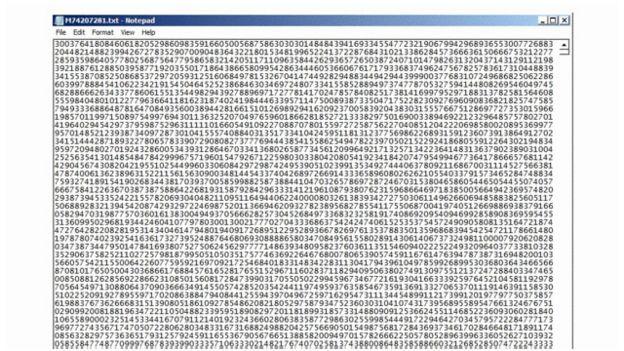 اكتُشف أكبر أولي جامعة ميسوري 160120143614_largest_prime_number_640x360_bbc_nocredit.jpg