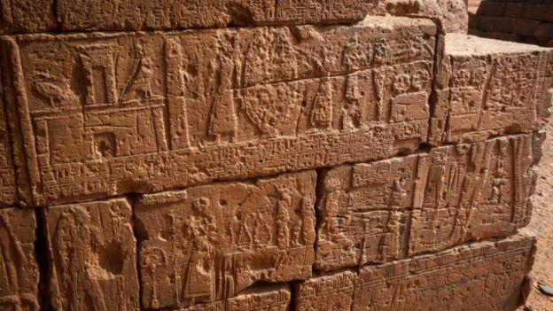 Tallas en las pirámides