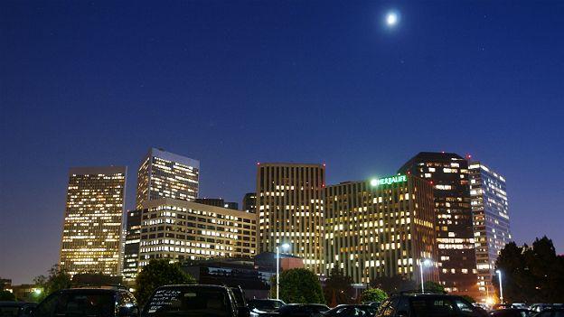 Ciudad iluminada