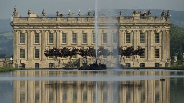 Chatsworth House, en Inglaterra.