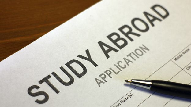 Анкета для навчання за кордоном