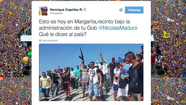 Tuit de Capriles