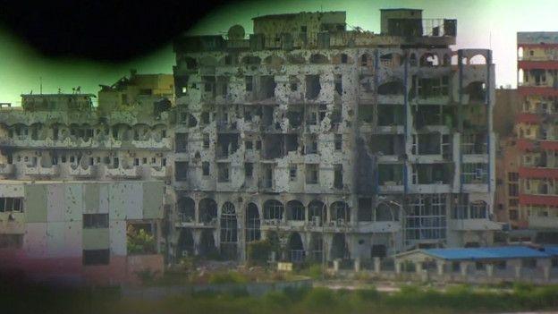 Ruinas de Bengasi