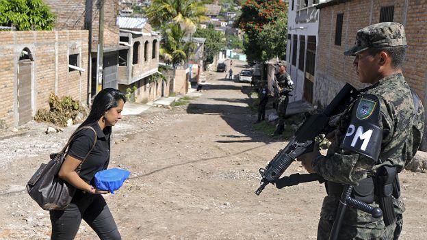 Policía Militar en Honduras
