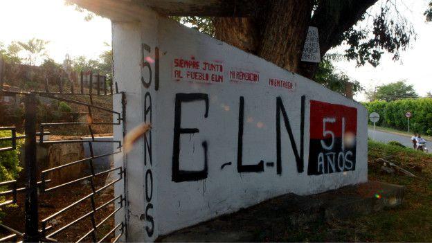 Mural del ELN