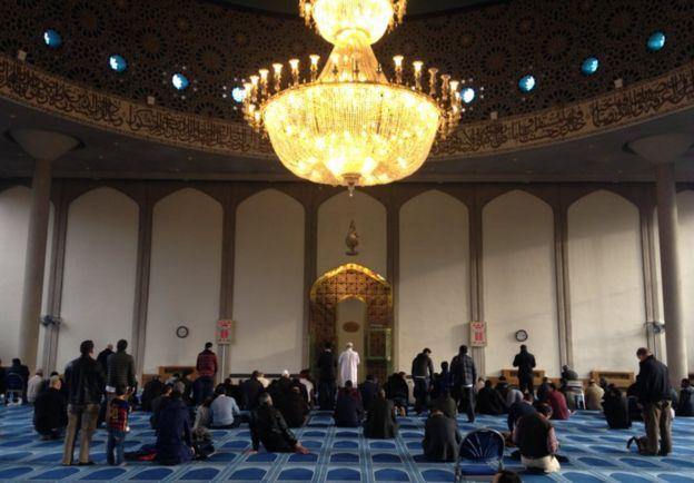 Pusat Budaya Islam, di Regents Park, London