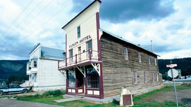 一家古老的酒店