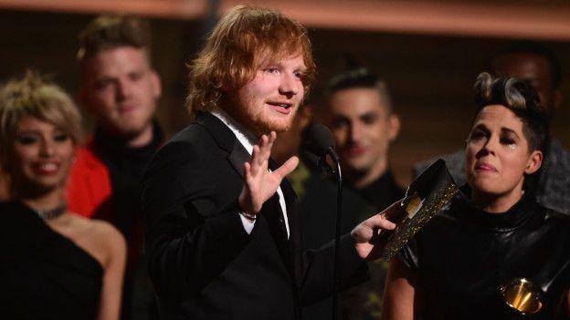 El cantante británico Ed Sheeran