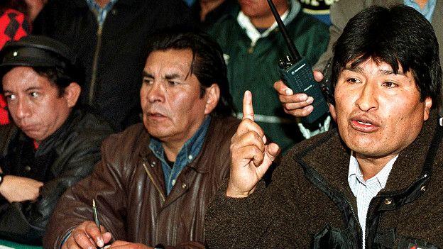 Evo Morales y antiguos aliados