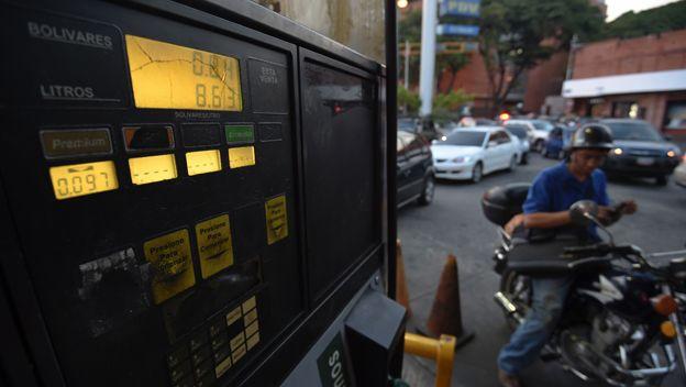 Precio de la gasolina en Venezuela