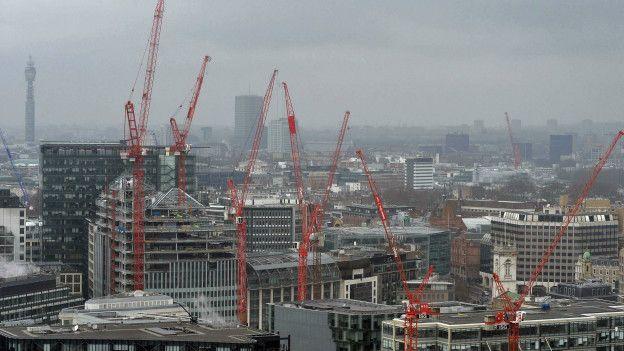 Londres en construcción