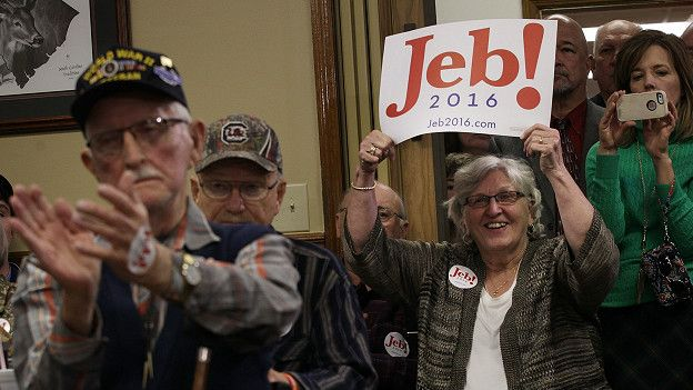 Seguidores de Jeb Bush