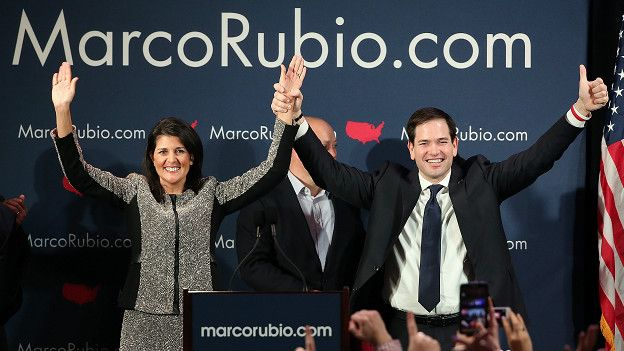 Marco Rubio después de las primarias de Carolina del Sur