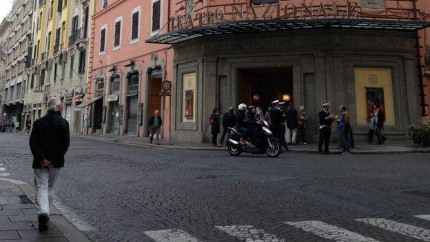 Сева в Риме