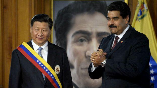 Jiping y Maduro