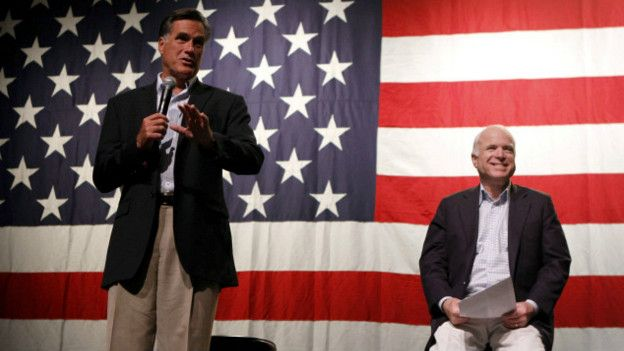 Mitt Romney John Mccain