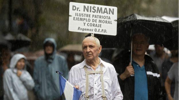 Argentina, protestas por justicia en caso Nisman