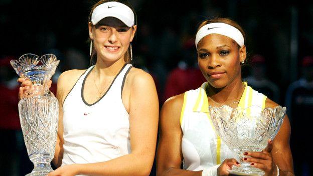 Maria Sharapova y Serena Williams