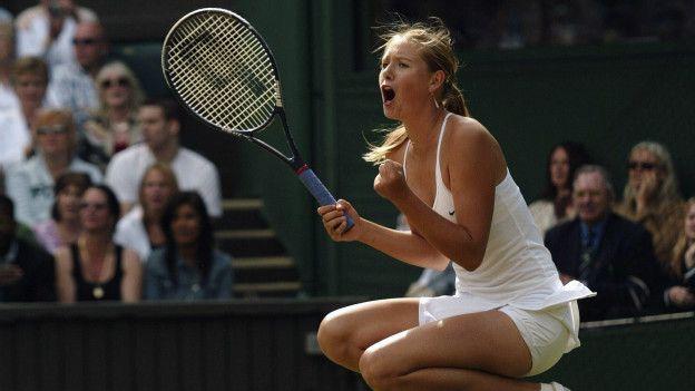 Sharapova gana Wimbledon 2004