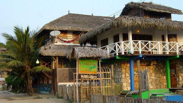 Restaurant en Montañita
