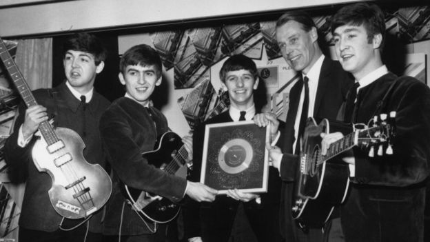 George Martin y los Beatles