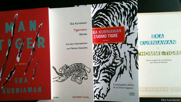 Novel-novel karya Eka Kurniawan telah diterjemahkan dalam berbagai bahasa.