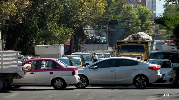 Automóviles en la fase I del programa de contingencia ambiental