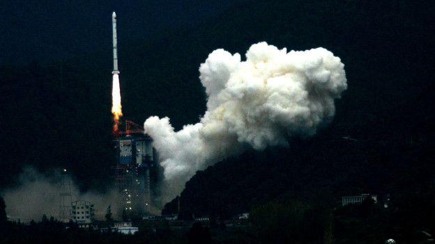 China lanzó su primera sonda a la Luna en 2007