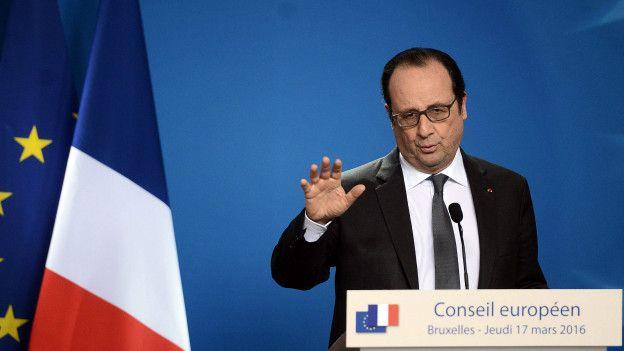 El presidente de Francia, Francois Hollande, advirtió que no era posible