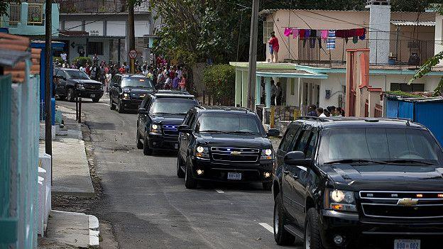 Caravana de Michelle Obama