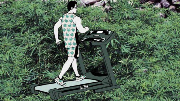 Ejercicio puede tener mismo efecto que las drogas ilegales?