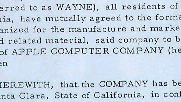 Imagen del contrato de Wayne
