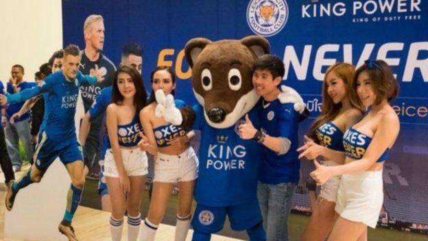 萊斯特城隊的一些球員在泰國粉絲中越來越出名