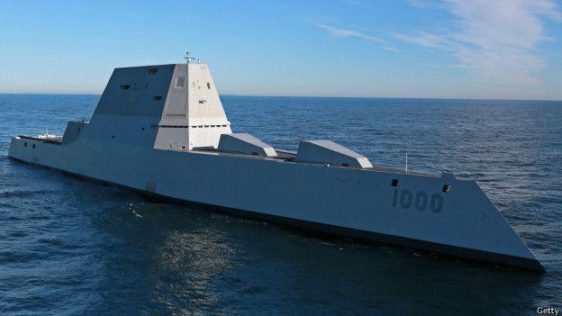 El USS Zumwalt es el buque de guerra más grande construido en la historia naval de EE.UU.