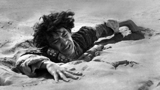 Una escena de la película Lawrence de Arabia